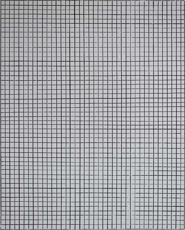 inside outside nr. 15, 2019, 50 x 40 cm, olieverf op linnen op paneel