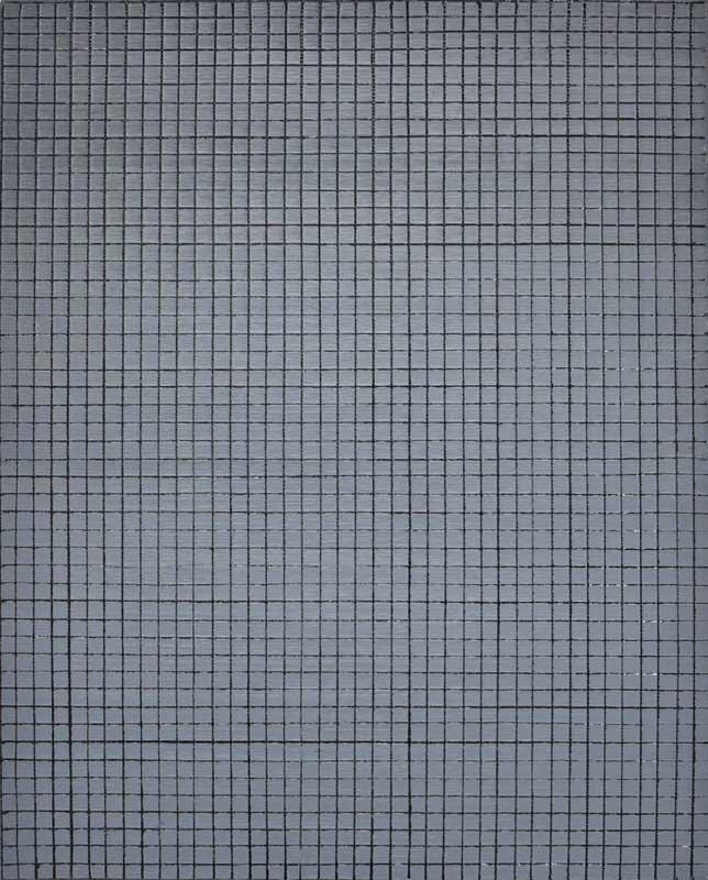 inside outside nr. 17, 2019, 50 x 40 cm, olieverf op linnen op paneel