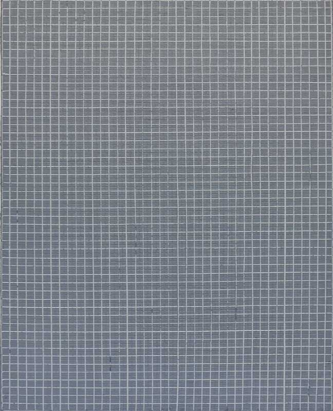 inside outside nr. 18, 2019, 50 x 40 cm, olieverf op linnen op paneel