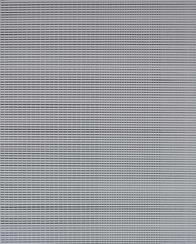 Inside outside nr. 23, 2019, 50 x 40 cm, acryl op canvas op paneel