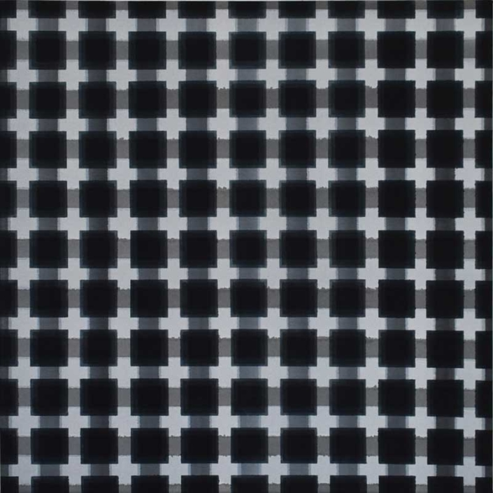inside outside nr. 3, 2020, 50 x 50 cm, acryl op canvas