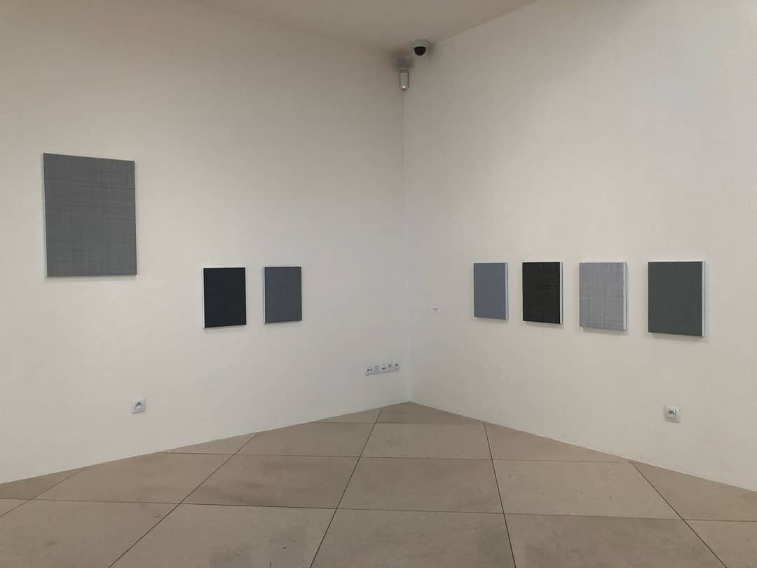 """2018, """"Abstraction and space in dialogues"""" MIXED CZ, Galerie Závodný Mikolov, CZ"""
