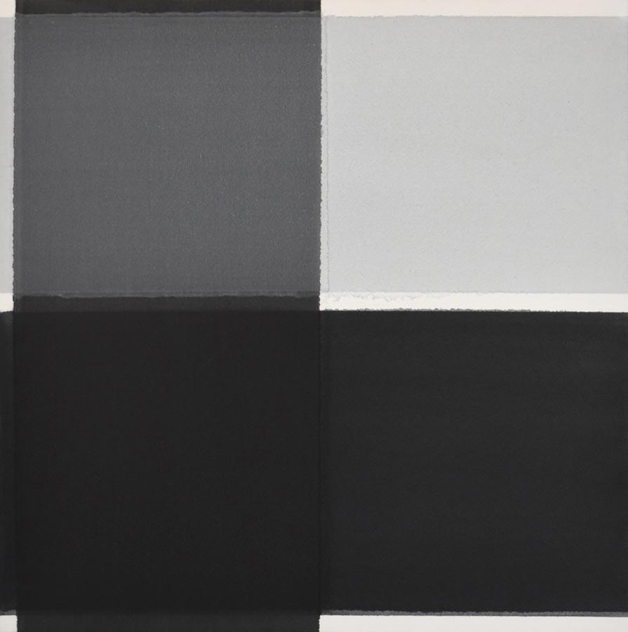 inside outside nr. 15, 2020, 60 x 60 cm, acryl, pigment op katoen